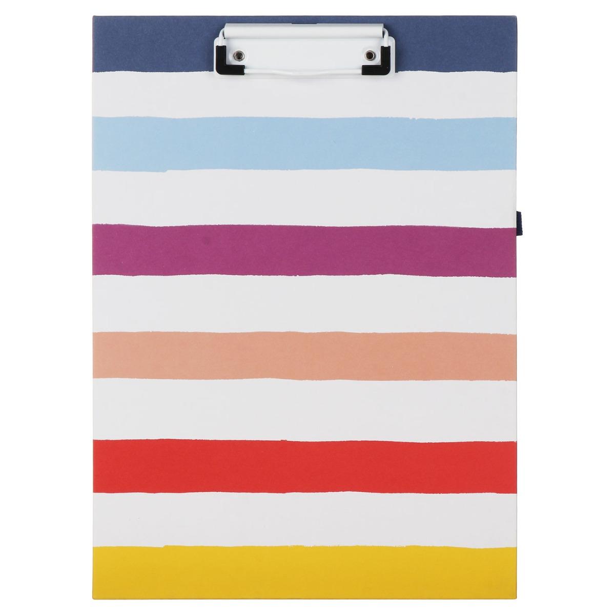 Kate Spade New York Candy Stripe Clipboard Folio