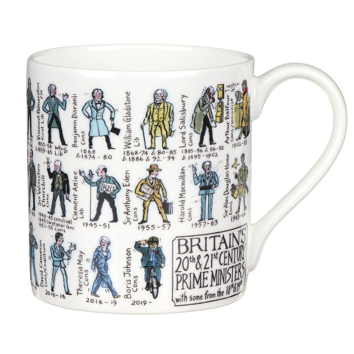 Mclaggan Smith Prime Ministers Large Mug