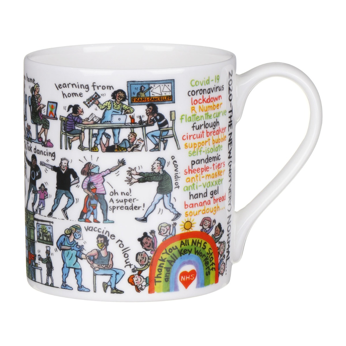 Mclaggan Smith 2020 - The New (Not Very) Normal Large Mug
