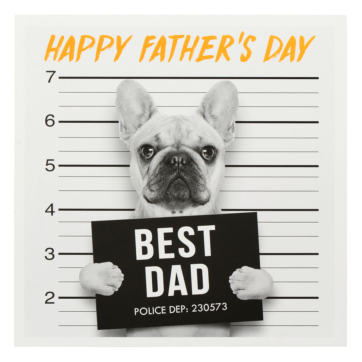 Paperlink Best Dad Father's Day Card