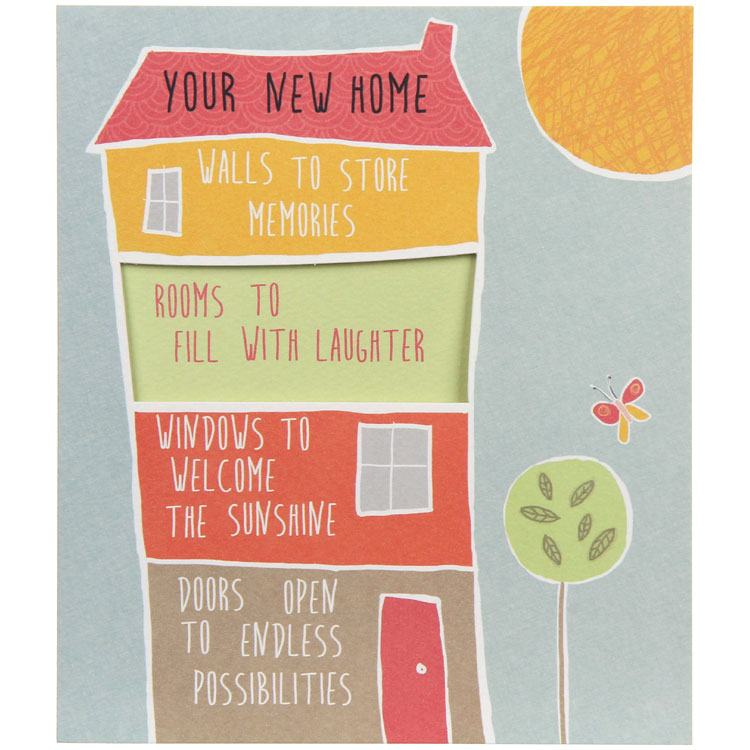 Paperlink Sunshine New Home Card