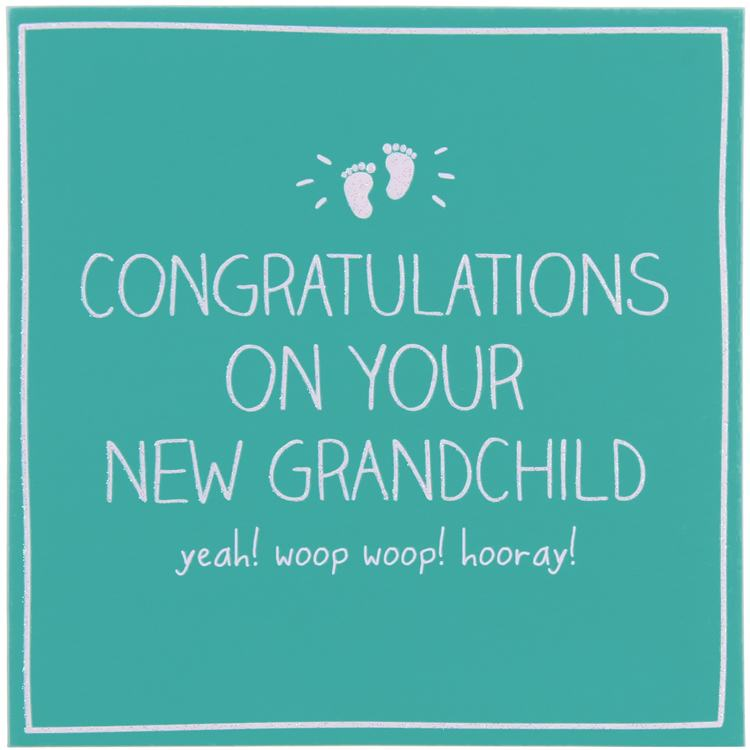 Happy Jackson Congratulations On Your New Grandchild Card