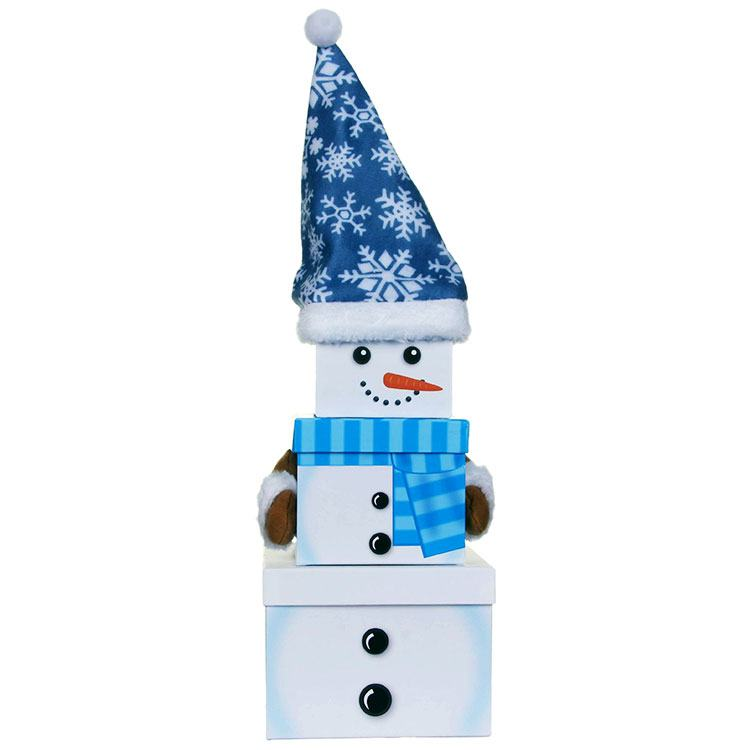 Lindy bowman assorted christmas characters gift boxes