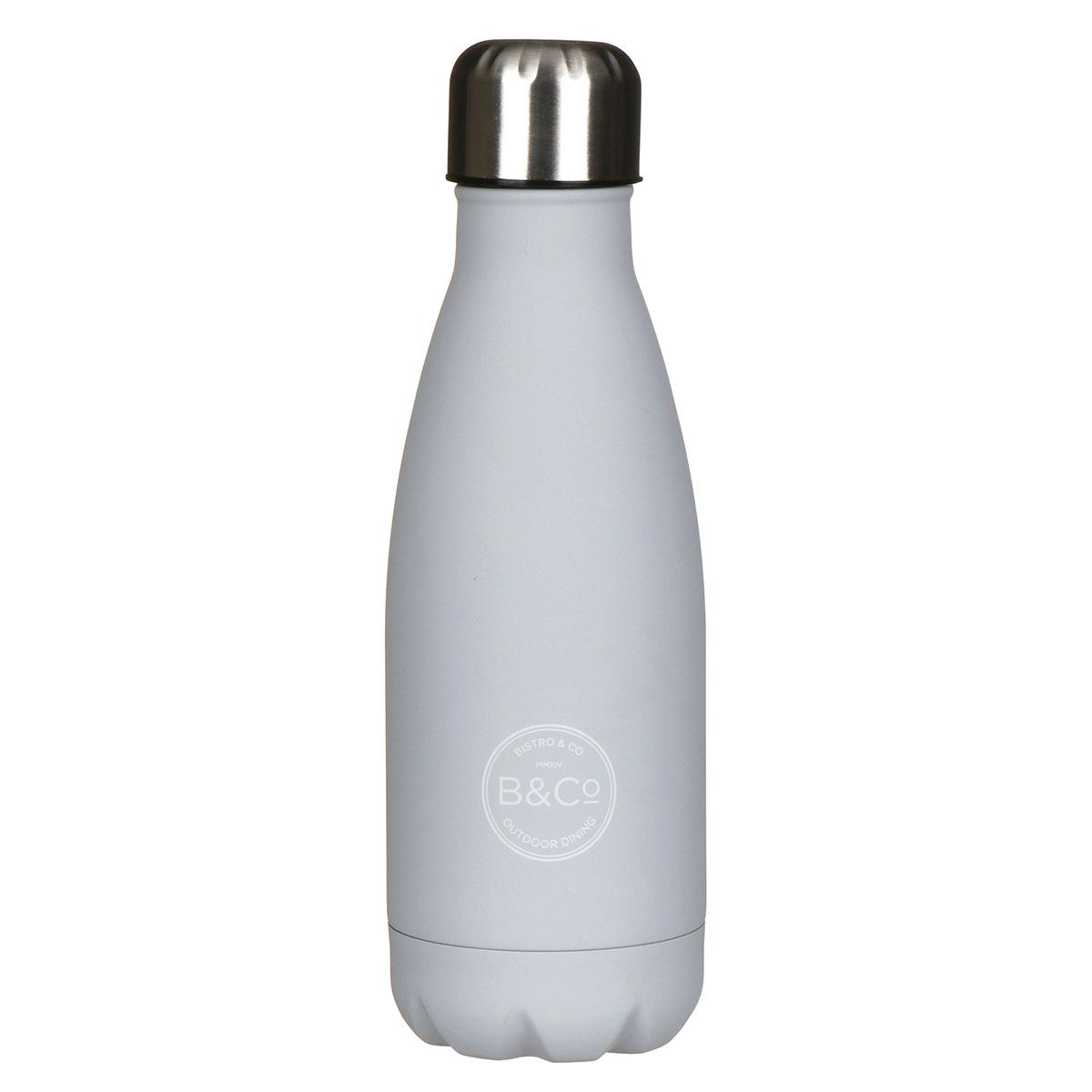 Grey 350ml Water Bottle