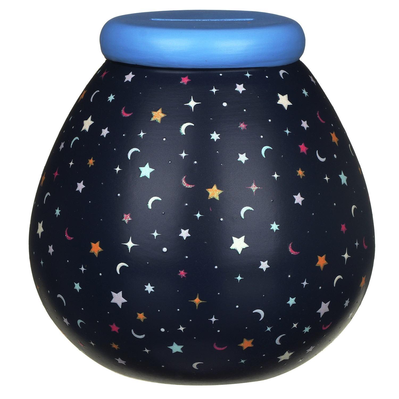 Pot of Dreams Moons & Stars Glow In The Dark Money Pot