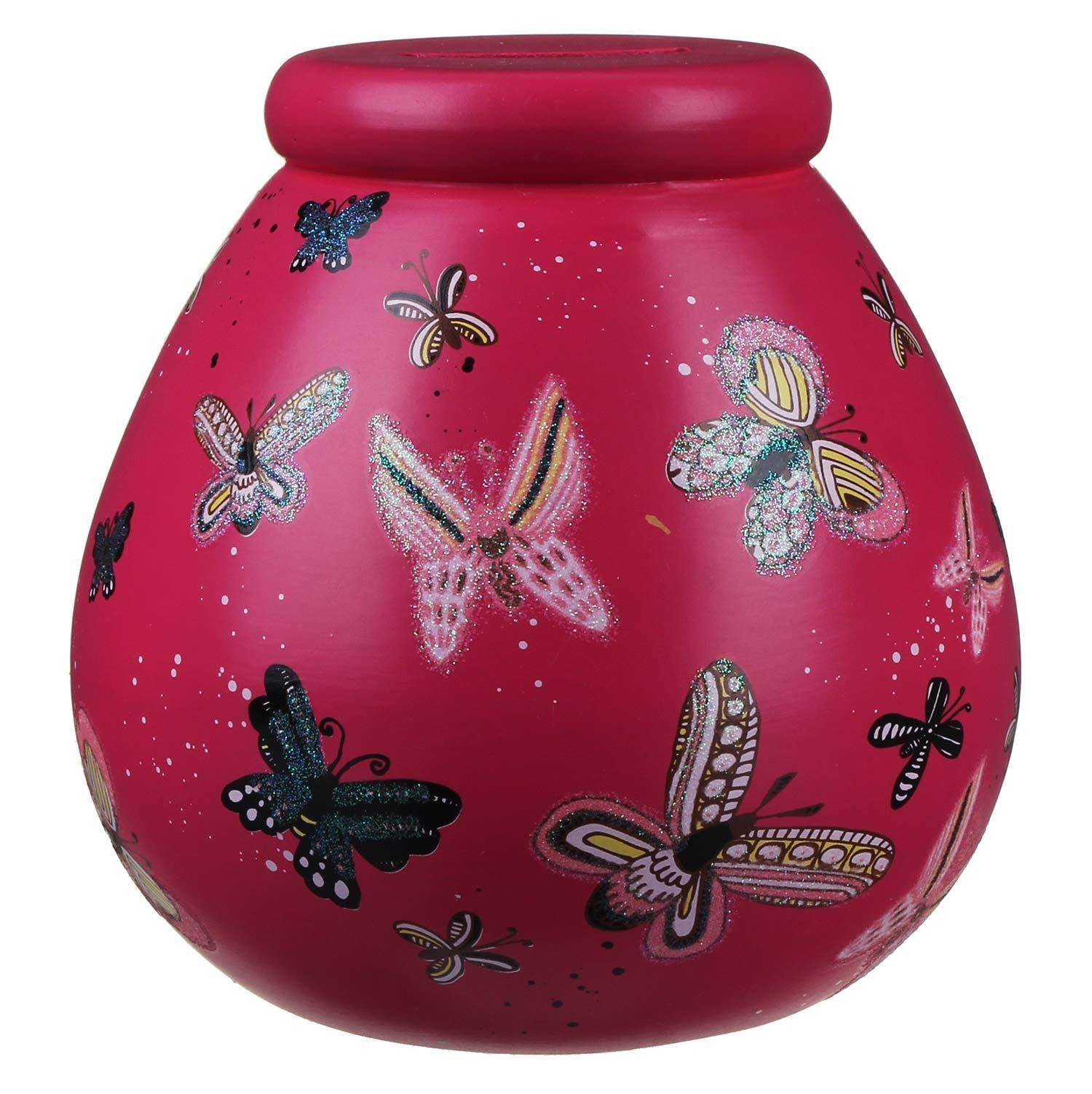 Pot of Dreams Butterflies Money Pot