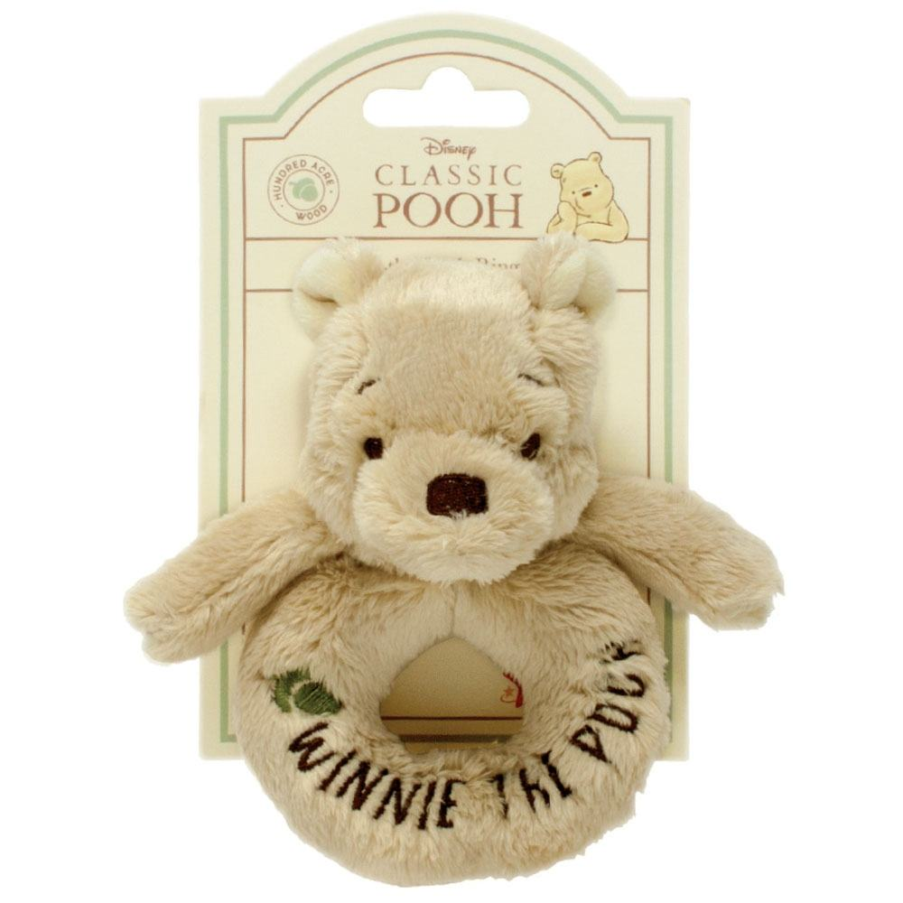 Winnie The Pooh Hundred Acre Wood Winnie the Pooh Ring Rattle