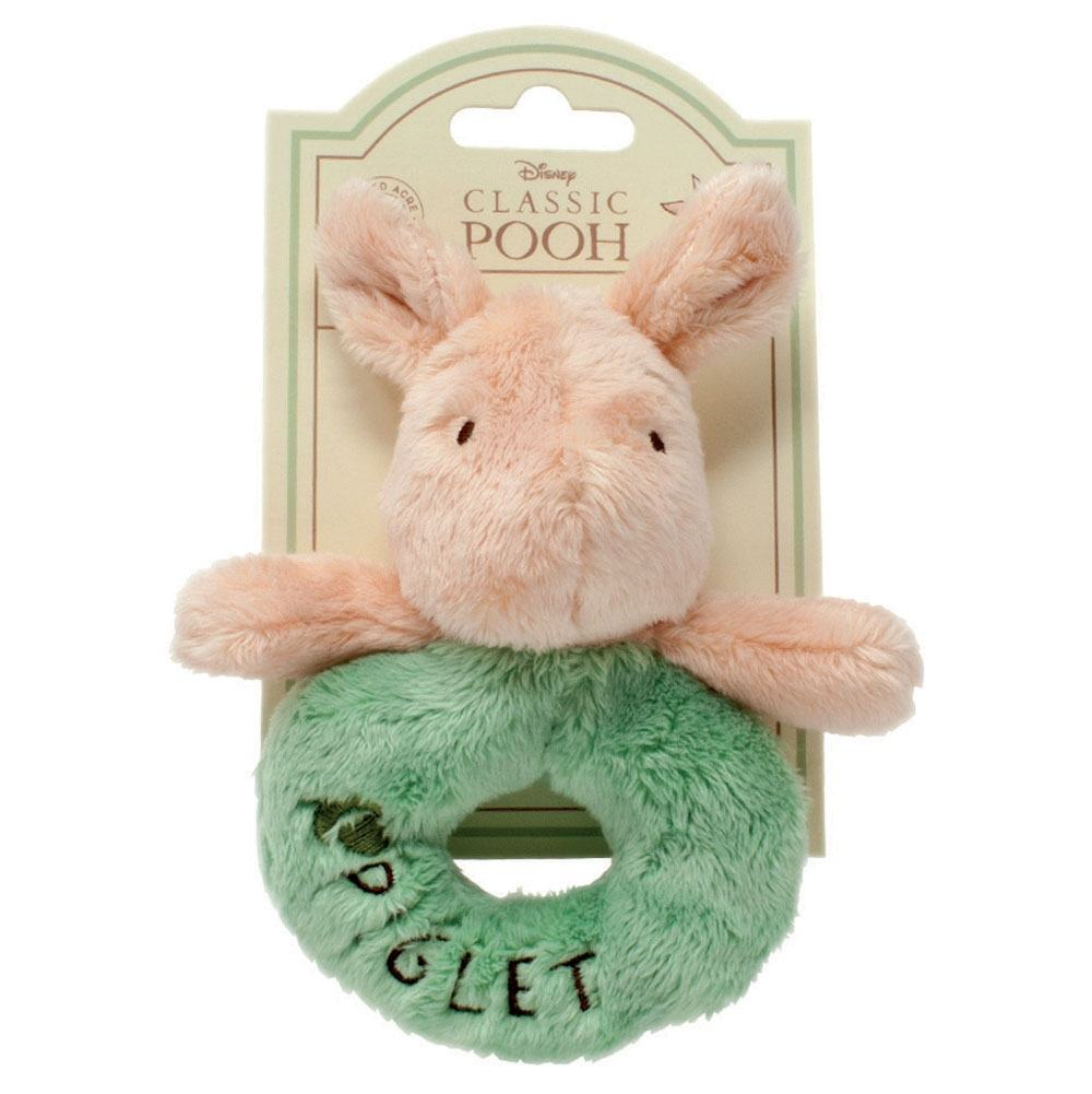 Winnie The Pooh Hundred Acre Wood Piglet Ring Rattle