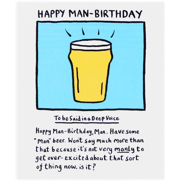 Edward monkton happy man birthday card campus gifts altavistaventures Images