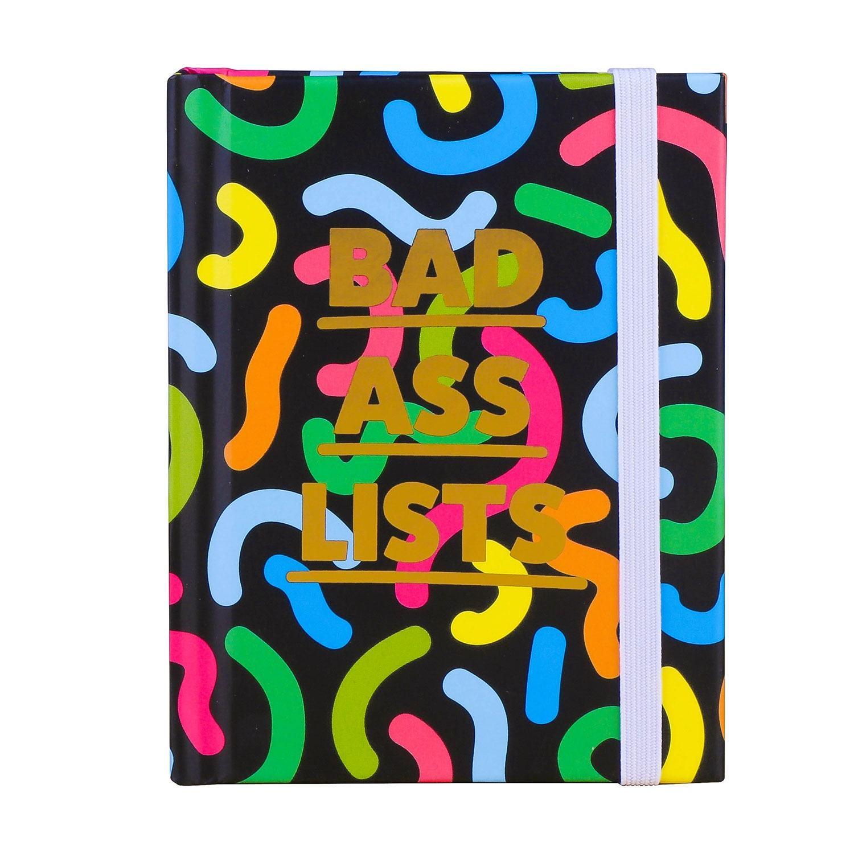 Really Good 'Bad Ass Lists' Mini Notebook