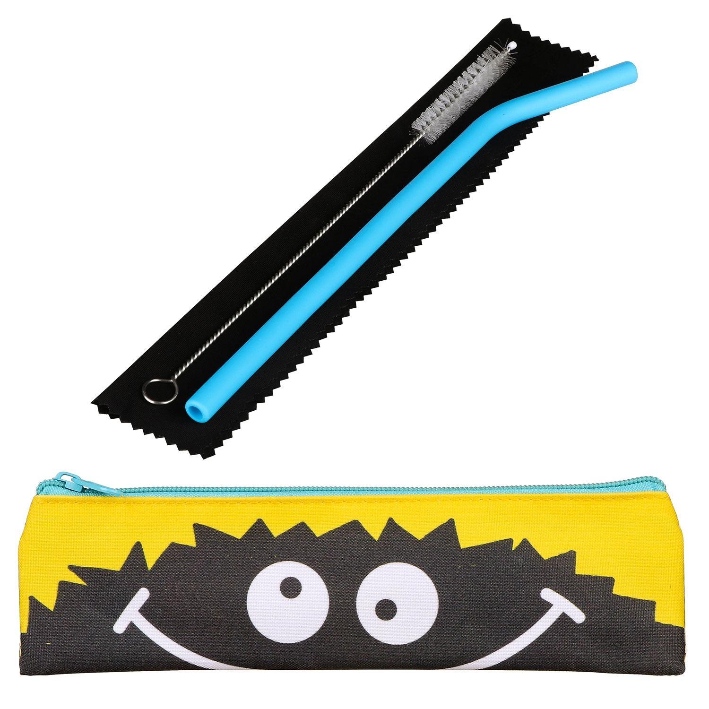 Really Good Smile Kids Silicone Straw Set