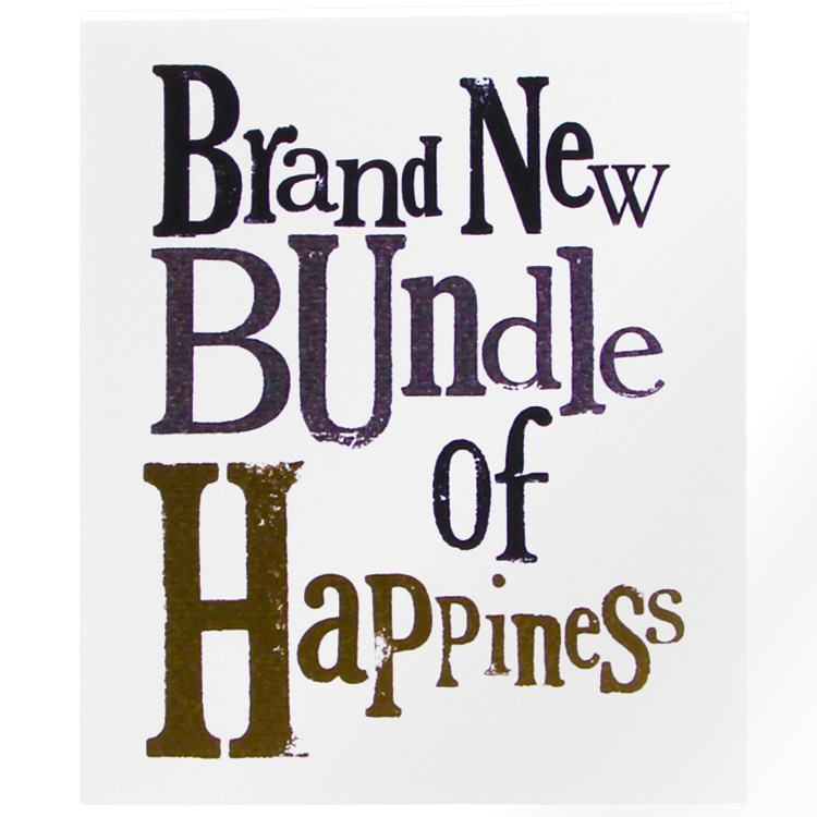 The Bright Side Brand New Bundle of Happiness Card