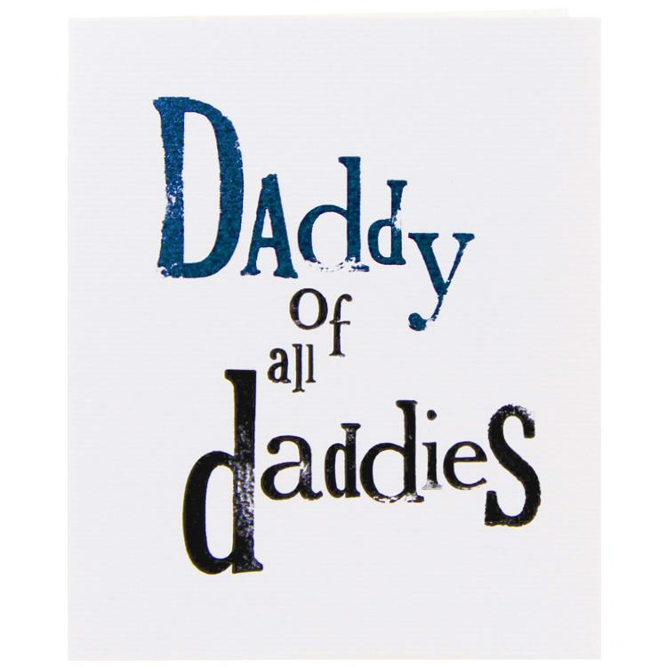 The Bright Side Daddy Of All Daddies Card
