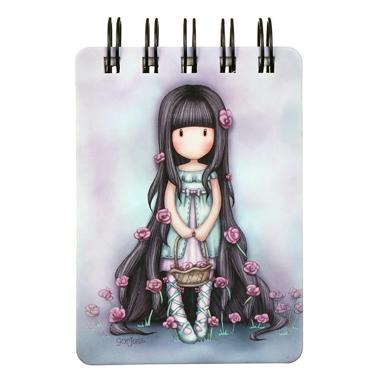 Gorjuss Rosie Mini Wirobound Notebook