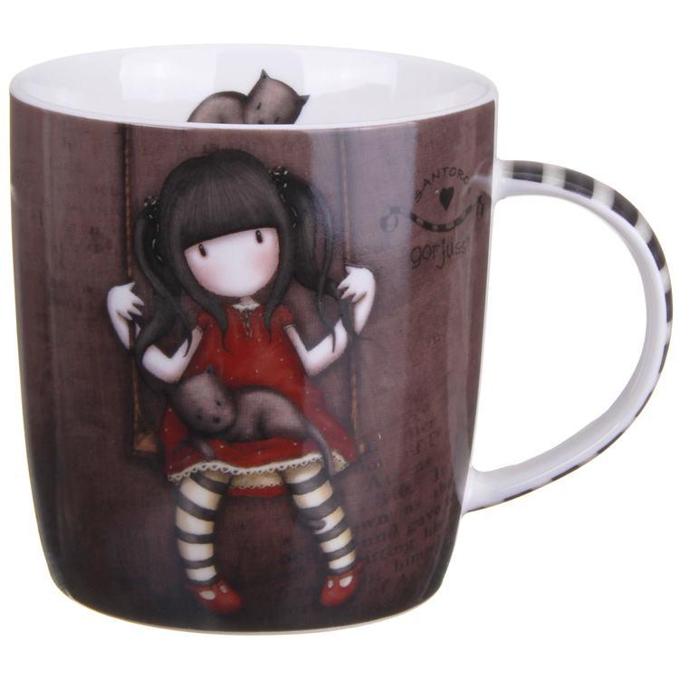 gorjuss ruby boxed mug