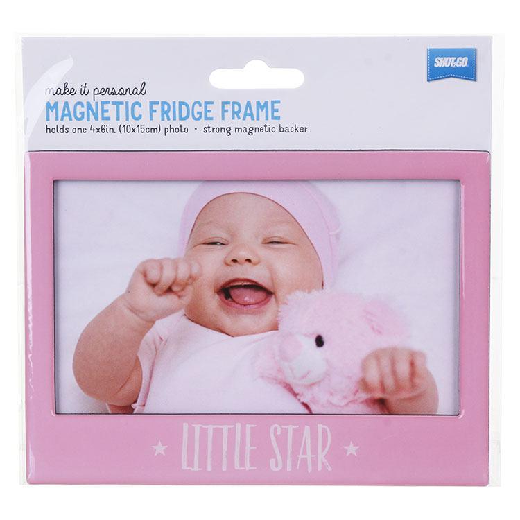 Pink `Little Star` Fridge Frame