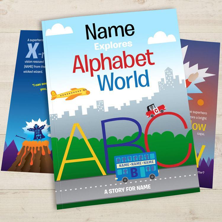 Alphabet World Personalised Childrens Book