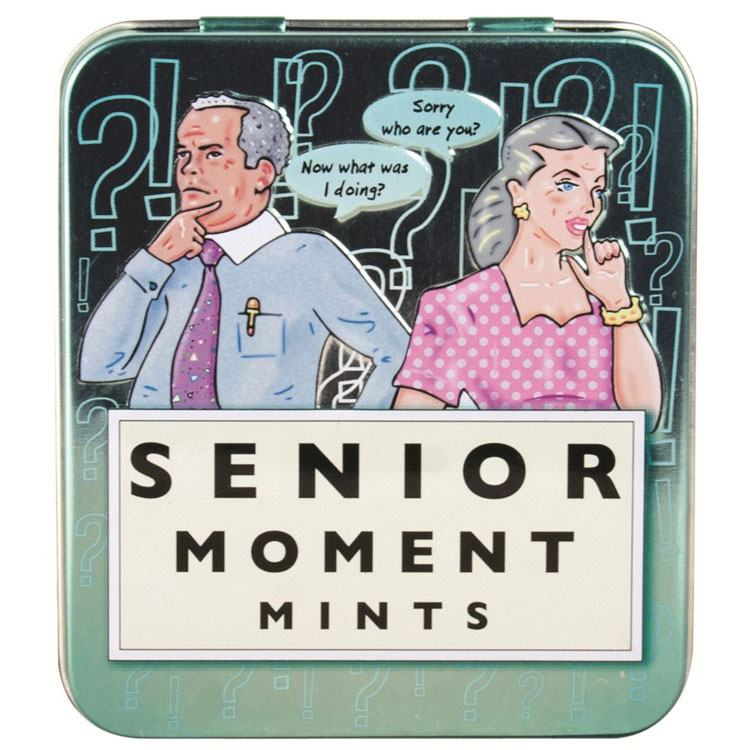 Senior Moments Mints 45g Tin