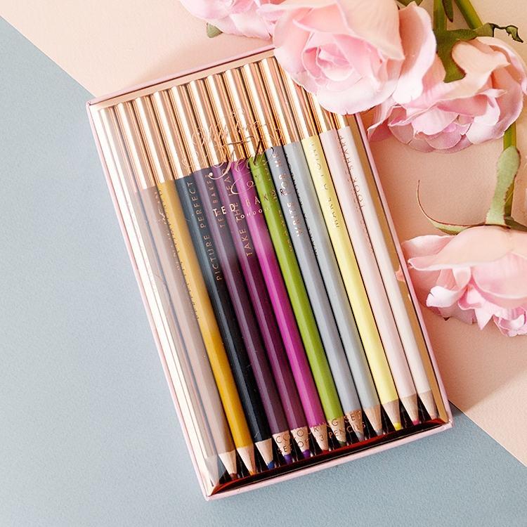 Ted Baker Baker's Dozen Colouring Pencils