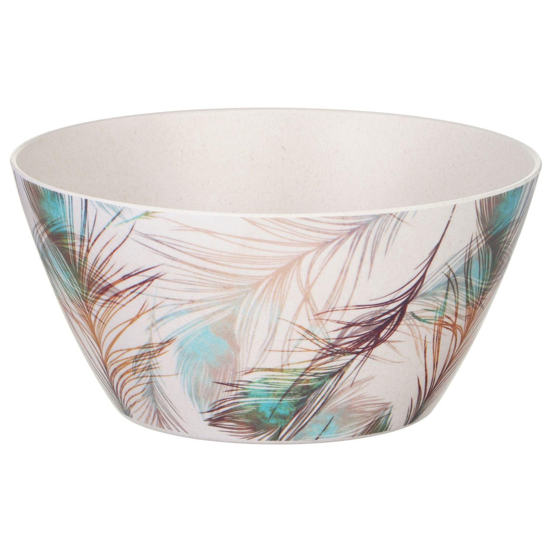 Temptation Bamboo Fibre Feather Bowl