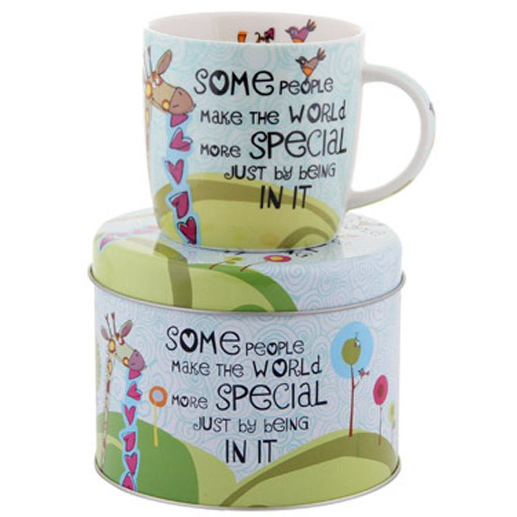 The Good Life Some People Spice Mug in Tin