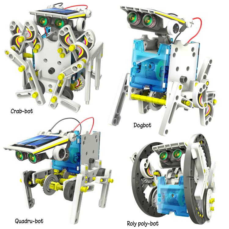 14in1 Educational Solar Robot Kit