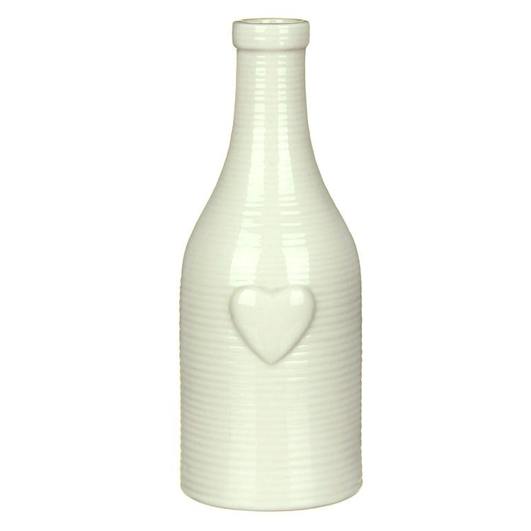 Transomnia Large Ceramic Heart Vase
