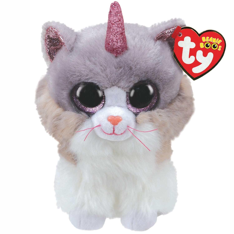Ty Asher Horned Cat Beanie Boo