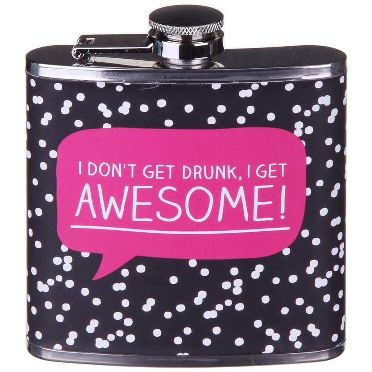 Happy Jackson Awesome Hip Flask