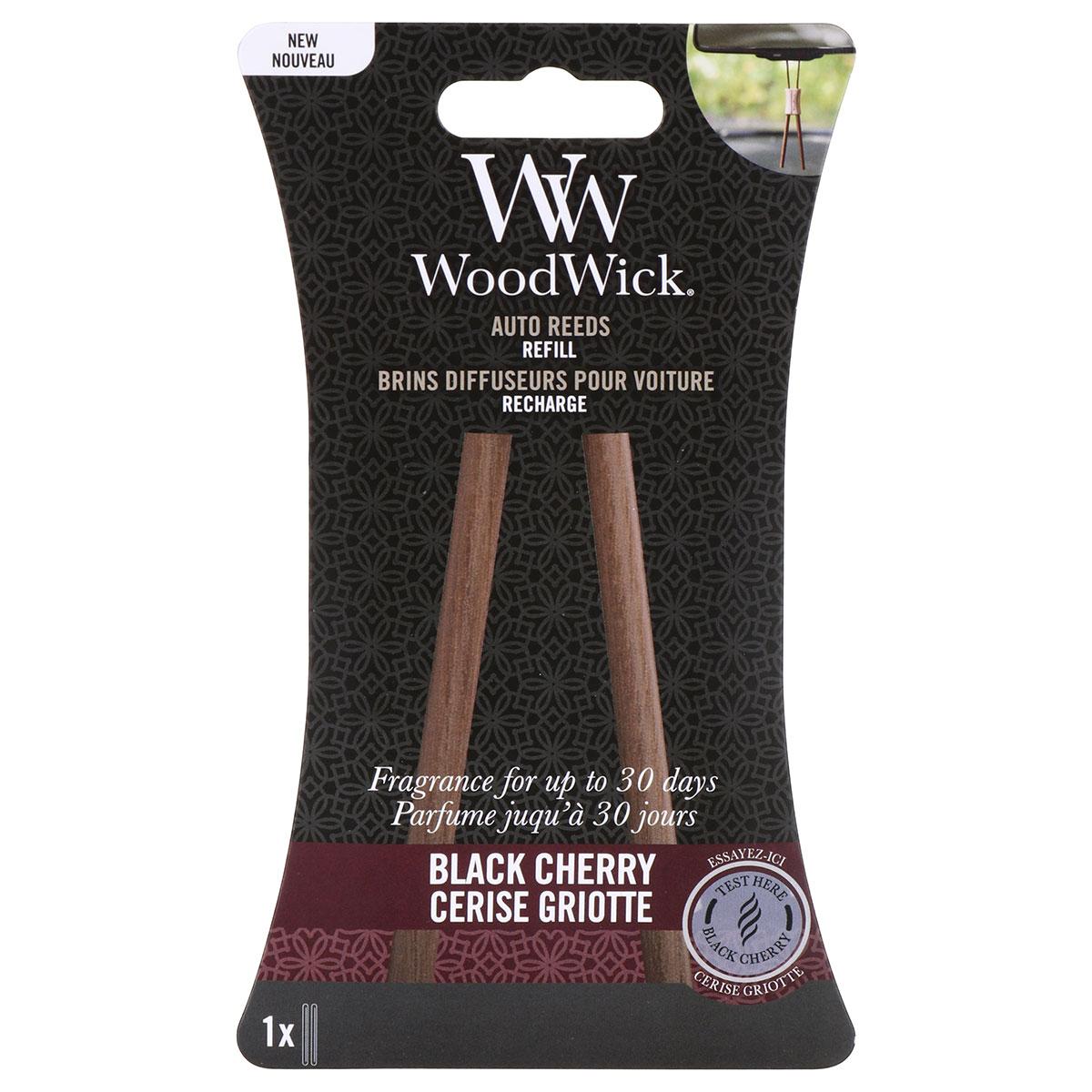 WoodWick Black Cherry Auto Reeds Refill