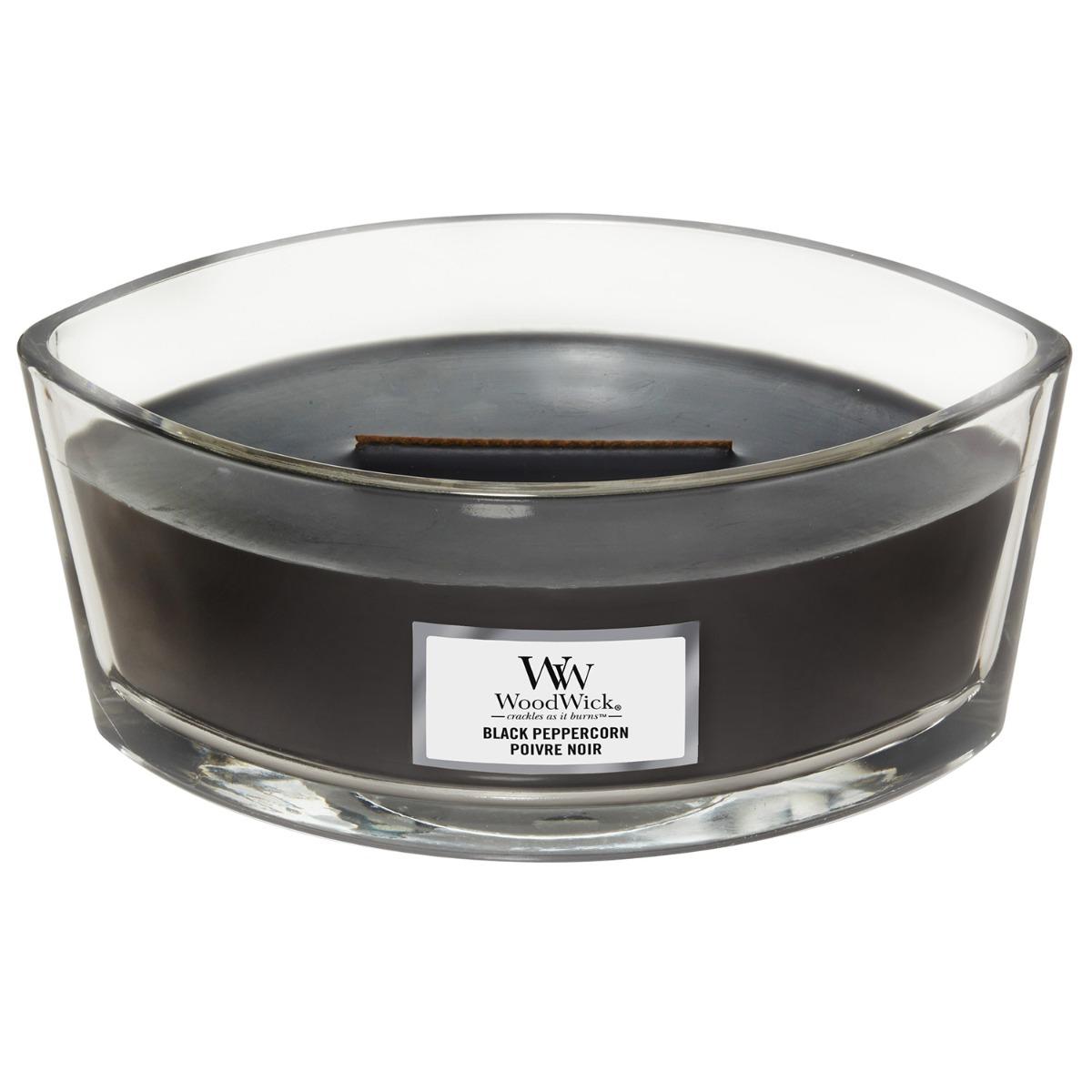 WoodWick Black Peppercorn Hearthwick Ellipse Candle