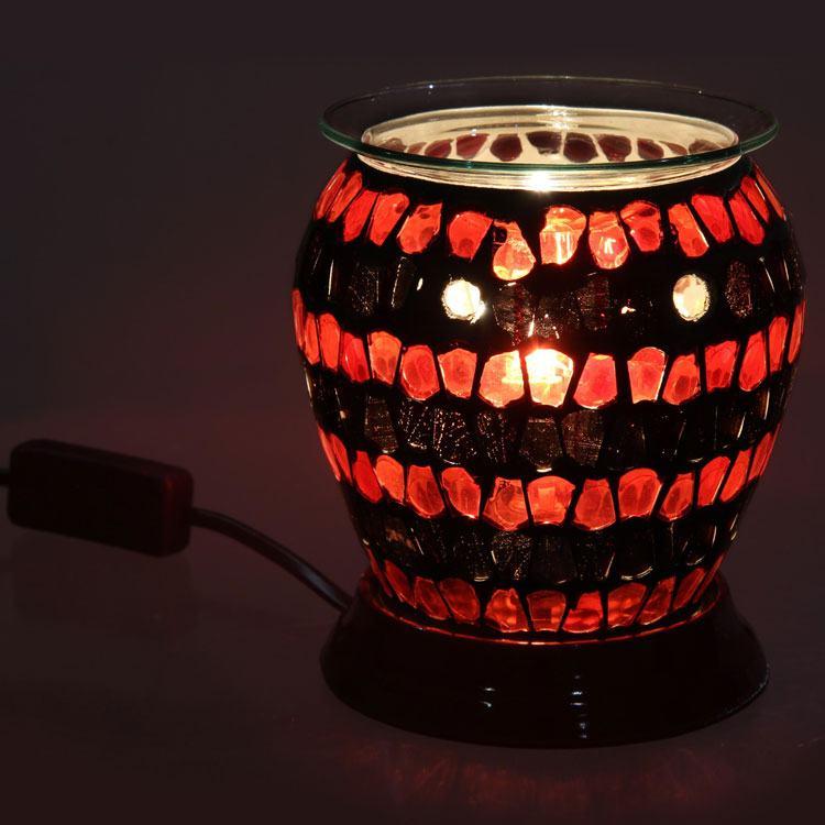 Amber Glow Electric Melt Warmer