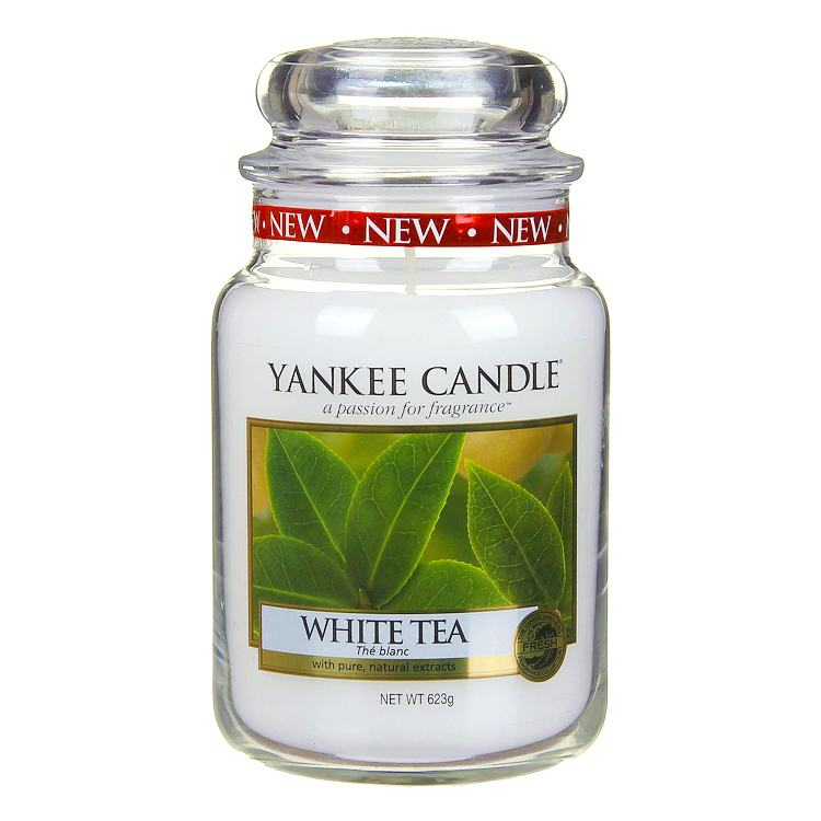 Yankee Candle White Tea Large Jar Candle
