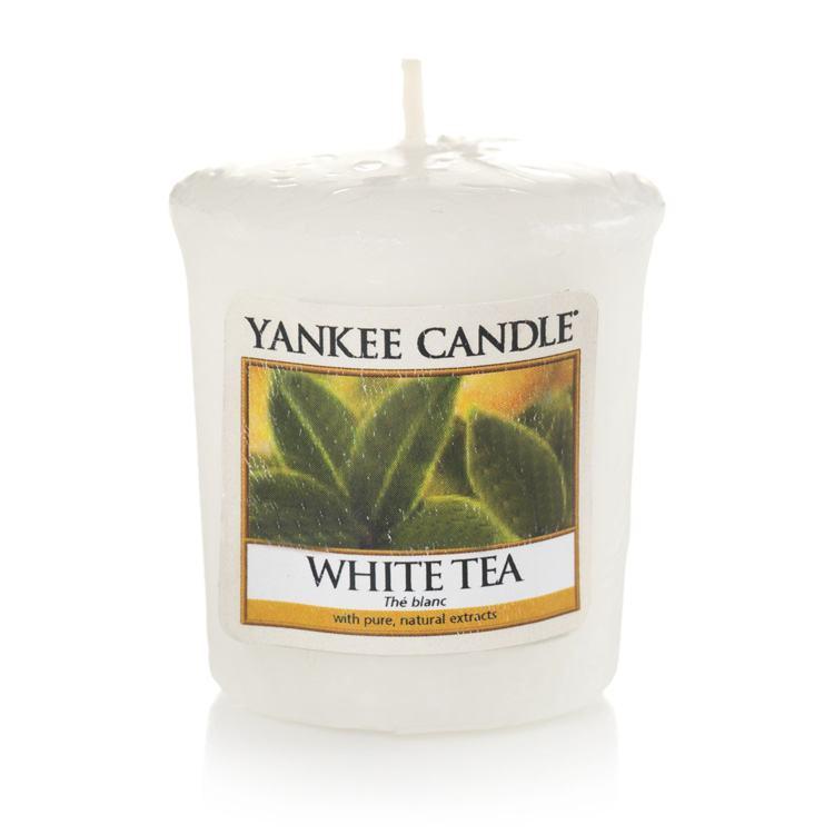 Yankee Candle White Tea Sampler Votive Candle
