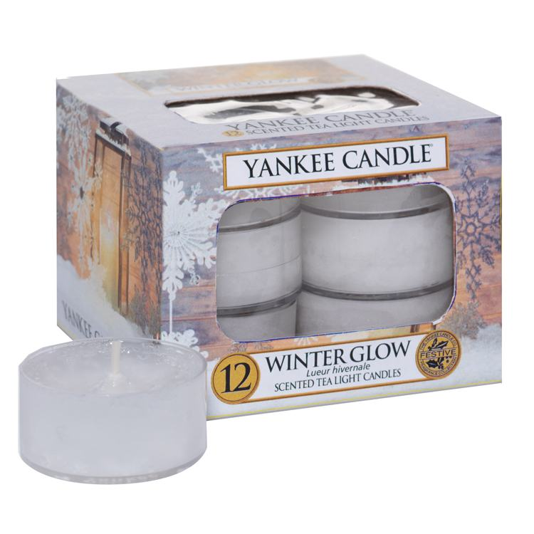 Yankee Candle Winter Glow Pack Of 12 Tealights