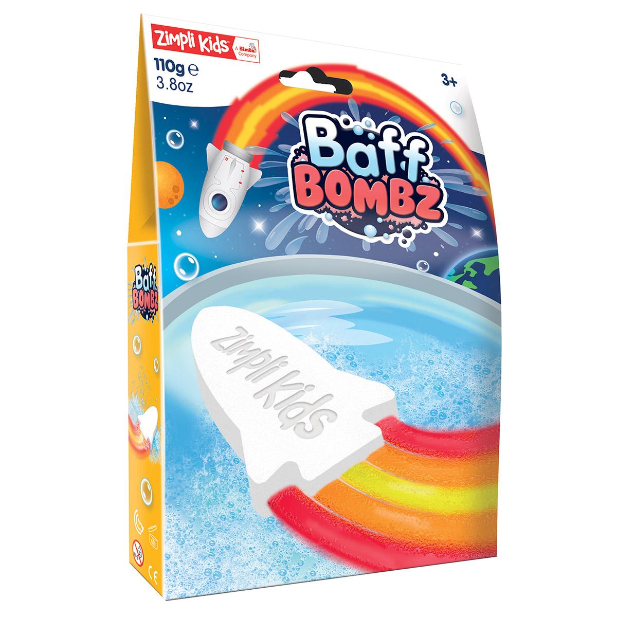 Zimpli Kids Rocket Baff Bombz