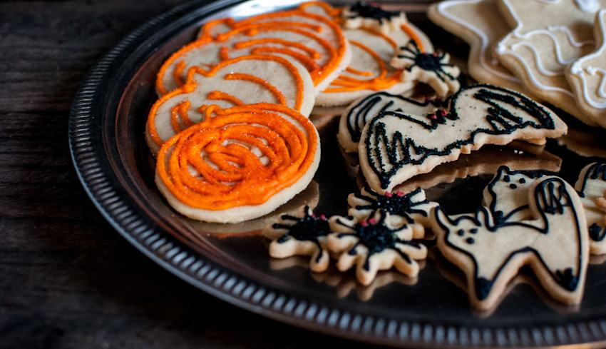 Halloween Iced Cookies