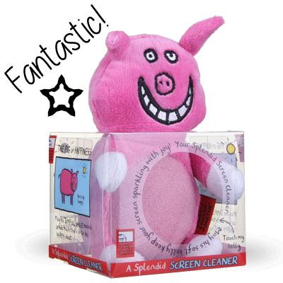 Edward Monkton Pig of Happiness Screen Cleaner