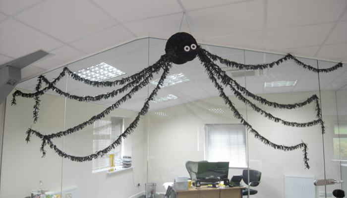 A Spider invades the office