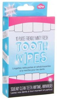 Tooth Wipes