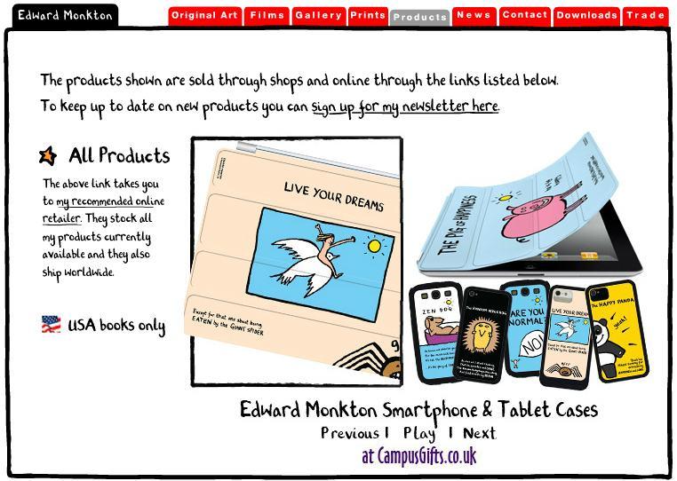 Edward Monkton's Website