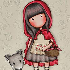 Little Red Riding Hood design from Gorjuss