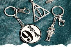 Harry Potter Keyrings & Badges