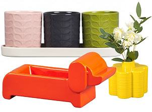 Orla Kiely Vases and Planters