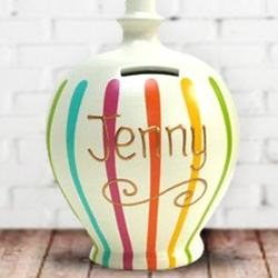 Personalised Money Pots