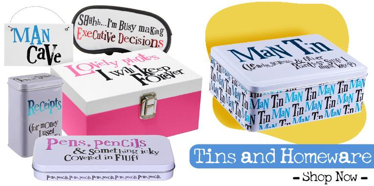 Tins and Homeware from The Bright Side