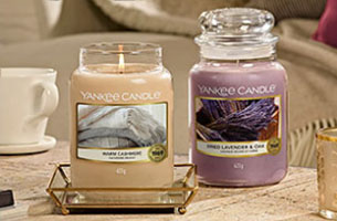 Yankee Candle's Fragrance of the month