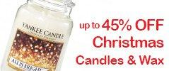 Yankee Candle Christmas Candles Offer