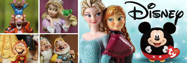 Disney Figurines and Plush Toys